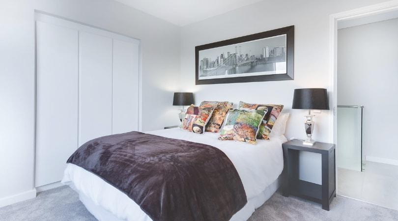 regras de decoração posicionamento da cama